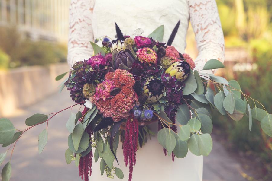individueller blumenstrauss zur hochzeit an der ostsee | Hochzeitsportal Rügen