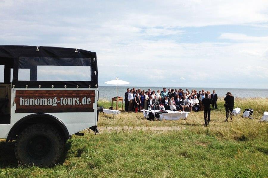 Hochzeit Ostsee – Heiraten mit Hanomag Tours in Sassnitz auf Rügen