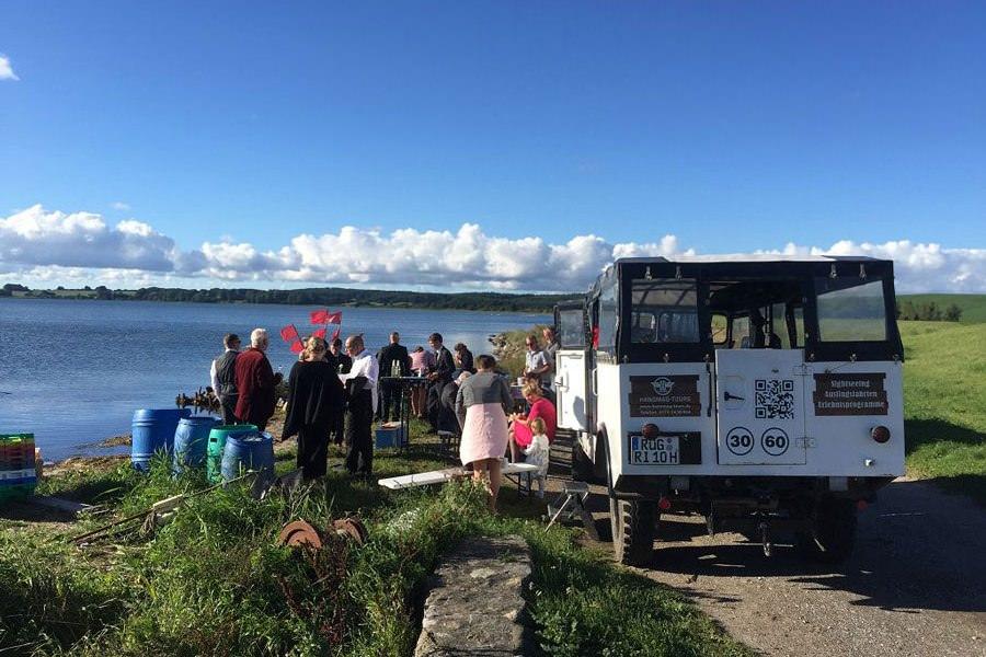 Hochzeit an der Ostsee auf Rügen mit Hanomag Tours aus Sassnitz