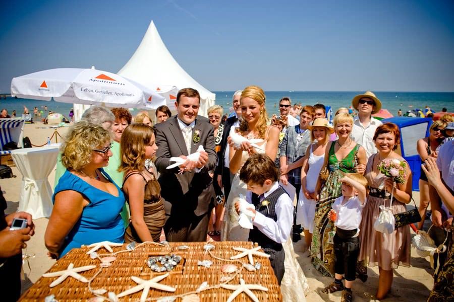 Hochzeit Rügen Strand – Heiraten an der Ostsee mit dem Hotel Hanseatic in Göhren