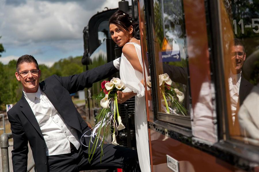 Goehren Riuegen Hochzeit im Rasenden Roland | Hochzeitsportal Rügen