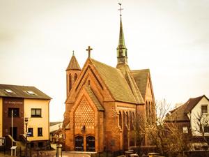 St Bonifatius Kirche Bergen – kirchlich heiraten auf Rügen an der Ostsee