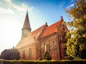 Kirche Schaprode – kirchlich heiraten auf Rügen an der Ostsee