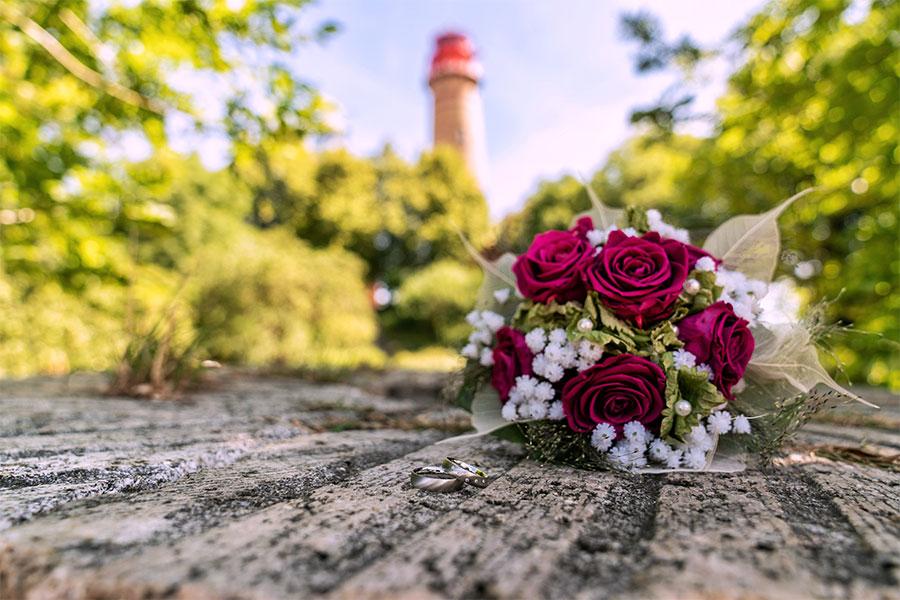 Freuen Sie sich auf Ihre Hochzeit am Kap Arkona.