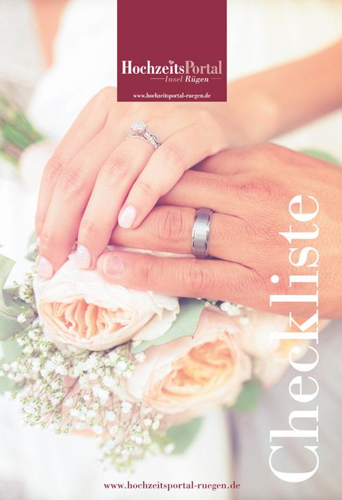 Checklisten für die Heirat an der Ostsee im Hochzeitsportal Rügen
