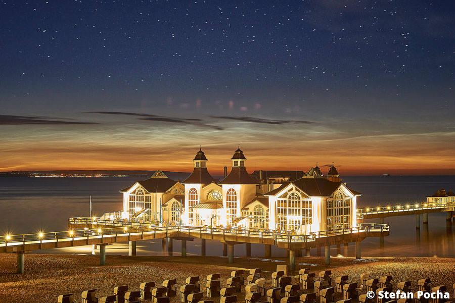 Hochzeit auf Rügen am Strand vor der Seebrücke in Sellin