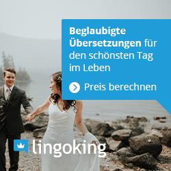 hochzeit uebersetzungen lingoking werbemittel squarebanner | Hochzeitsportal Rügen
