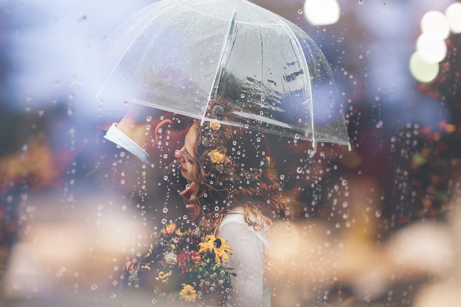 fotoshooting im regen trash the dress insel ruegen | Hochzeitsportal Rügen