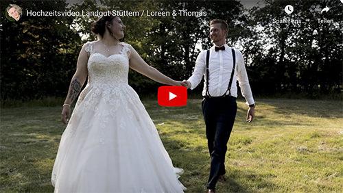 Hochzeitsvideo Loreen Thomas NMueschen   Hochzeitsportal Rügen
